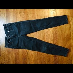 "Madewell 10"" rise skinny jeans size 9"